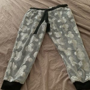 Snuggly Mickey Mouse PJ pants